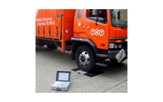 Kelba KPAWP Dynamic axle weighing pads and indicator